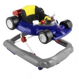 Trotteur voiture de course bleu Formula baby