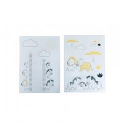 Stickers muraux - PLUCHE ET POMPON