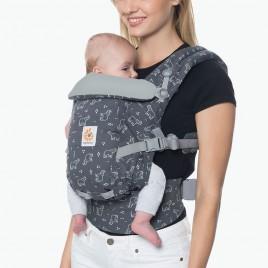 Porte bébé ADAPT gris éléphant