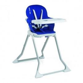 Chaise haute FLAT bleu