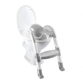Réducteur wc KIDDYLOO gris charme/blanc muguet