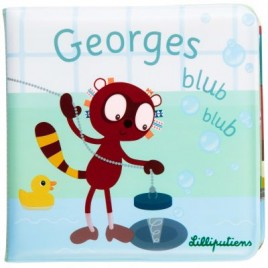 Georges Blub blub livre de bain