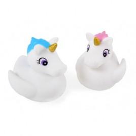 Licornes de bain avec lumière changeante