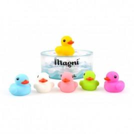 Boîte famille de 6 canards de bain