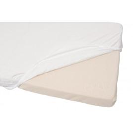 Drap housse imperméable 140X70 cm blanc