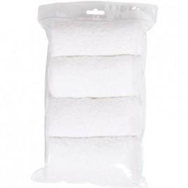 2 éponges blanches pour matelas à langer
