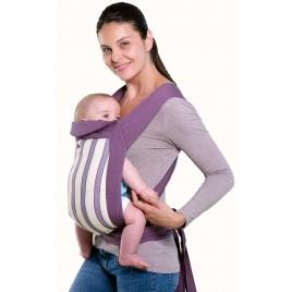 Porte bébé ventral et dorsal Mei Tai blueberry