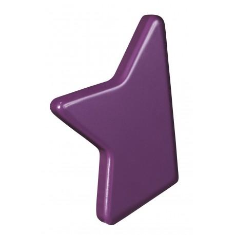 Poignée demi étoile violet nova