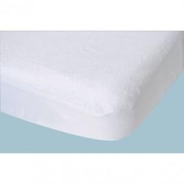Protège matelas Toucan 60X120cm blanc