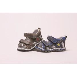 Chaussure grise - Premiers pas - garçon