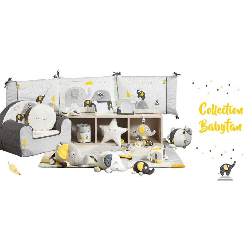 mobile musical babyfan b b roi. Black Bedroom Furniture Sets. Home Design Ideas
