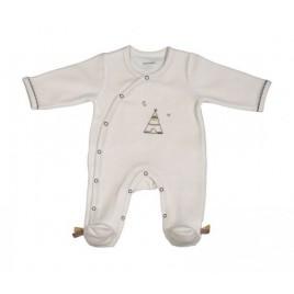 Pyjama beige 3 mois Timouki