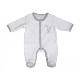 Pyjama blanc-ours naissance Céleste