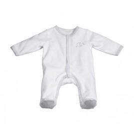Pyjama blanc-lune 3 mois Céleste
