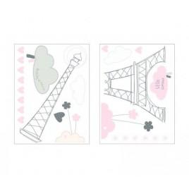 Stickers muraux 60X80 cm Lilibelle