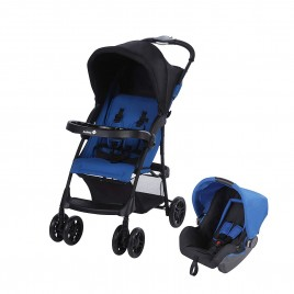 Pack duo Step and Go travel system baleineblue