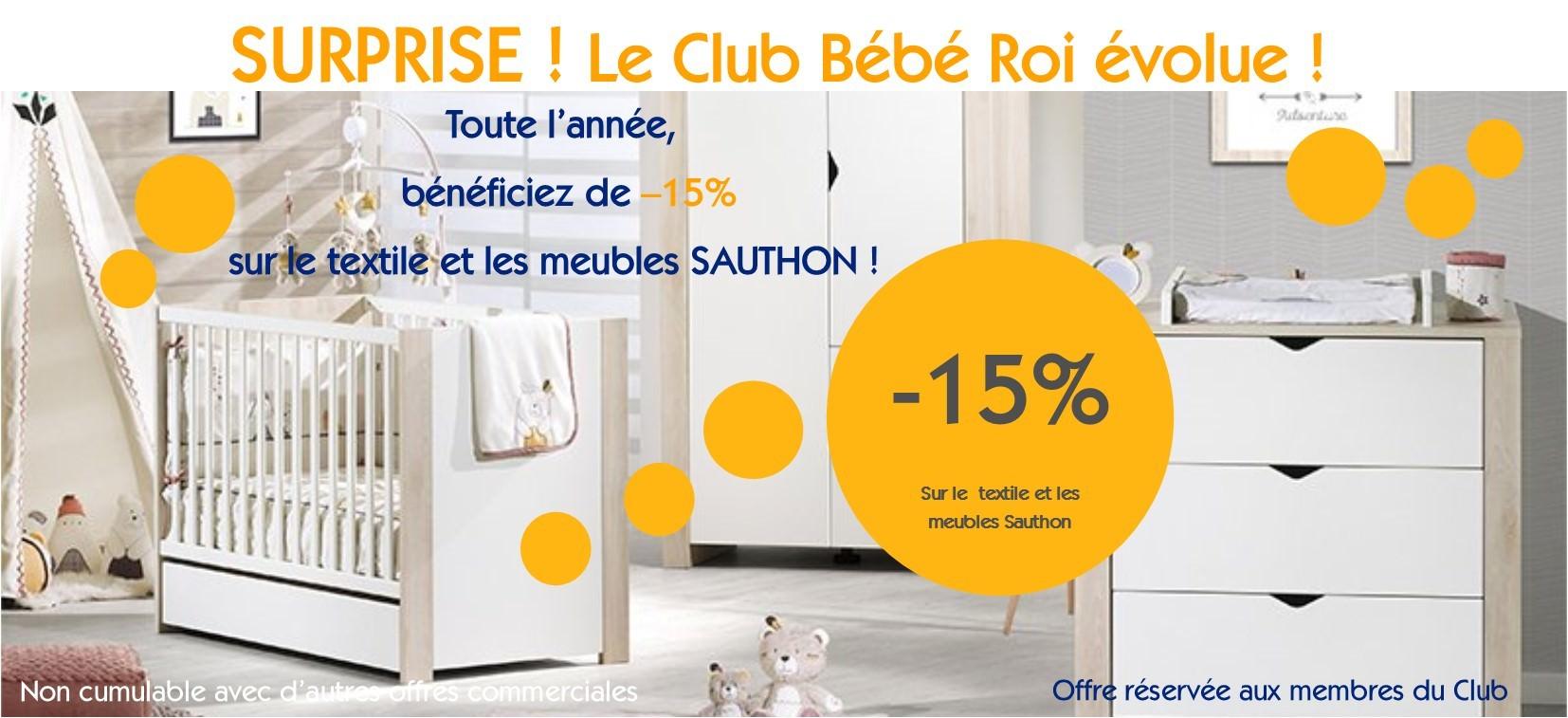 Les meubles et textile Sauthon à Prix Club !